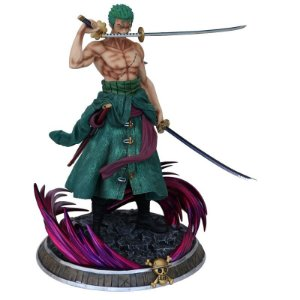 Estátua Roronoa Zoro 40 Cm Figure One Piece - Animes Geek