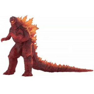 Godzilla Articulado Burning Action Figure Godzilla Vs Kong