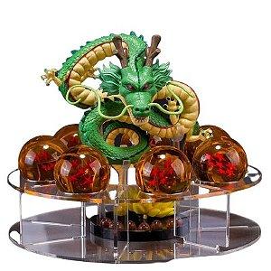 Shenlong Dragon Ball Z com 7 Esferas e luz de LED