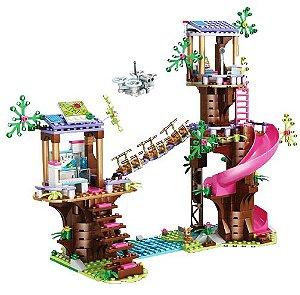 A Casa da árvore Friends 648 peças - Blocos de Montar