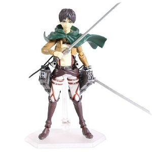 Action Figure Eren Yeager articulado Attack On Titan - Shingeki No Kyojin