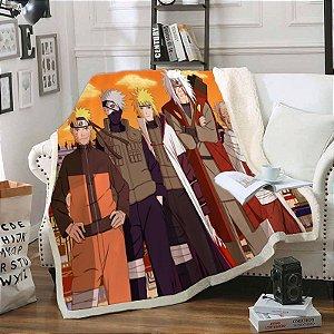 Cobertor Manto Naruto Shippuden - Animes Geek