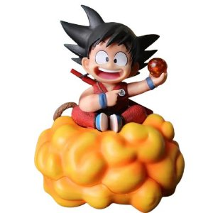 Figura Kid Goku Nimbus Dragon Ball - Animes Geek