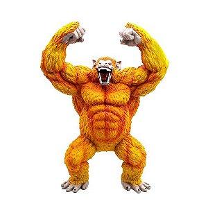 Estátua Goku Transformação Oozaru Dourado 45 cm - Dragon Ball