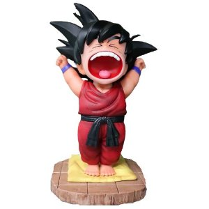 Kid Goku Versão Akubi Dragon Ball 18 Cm - Animes Geek