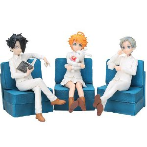 Kit com 3 personagens The Promised Neverland - Animes Geek