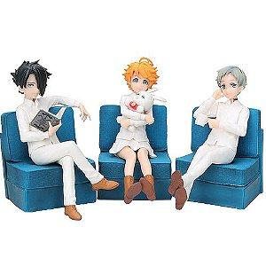 Kit com 3 personagens The Promised Neverland - Animes Geek