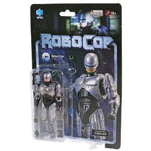 Action Figure Robocop Versão Normal Original Hiya - Cinema Geek