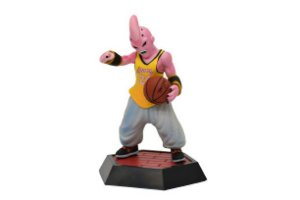 Estátua Majin Boo Versão Lakers Basketball - Dragon ball