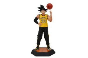Estátua Goku Versão Lakers Basketball - Dragon ball