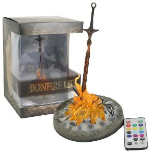 Bonfire Dark Souls 3 com LED - Games Geek