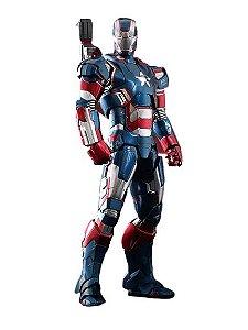 Action Figure War Machine 30 Cm Com LED - Iron Man