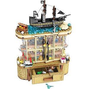 Armário mágico Disney 630 peças - Blocos de Montar