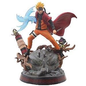 Estátua Naruto Uzumaki Rasengan Com LED - Naruto Shippuden