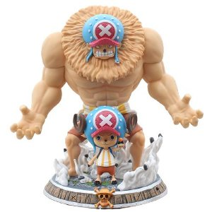 Estátua Tony Chopper 2 Formas 40 Cm - One Piece