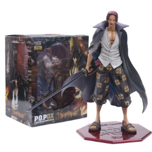 Estátua Shanks POP DX 25 CM - One Piece