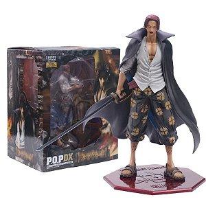 Estátua Shanks POP DX 25 CM - One Piece