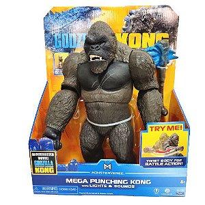 Boneco King Kong Mega Punching com luzes e Som Kong Vs Godzilla – Playmates