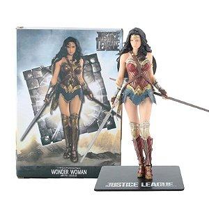 Estátua Mulher Maravilha Liga da Justiça 1/10 - Dc Comics