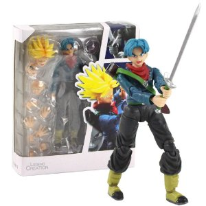 Boneco Trunks Action Figure Dragon Ball Articulado