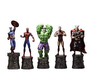 Kit 5 Figures Marvel 15 Cm