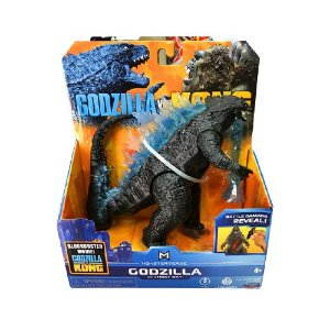 Boneco Godzilla 2021 Heat Ray Ver. Battle Damage Reveal Lançamento Kong Vs Godzilla - Original Playmates