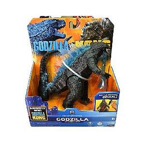 Boneco Godzilla 2021 Heat Ray Ver. Battle Damage Reveal Lançamento Kong Vs Godzilla - Original Playmates