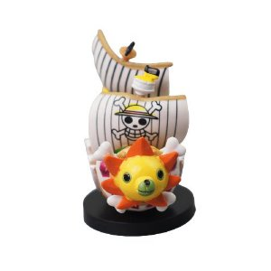 Kit 2 Barcos Piratas One Piece Thousand Sunny 8 CM - Animes Geek