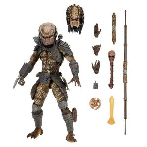 Action Figure Predador City Hunter Versão Ultimate Deluxe - Neca