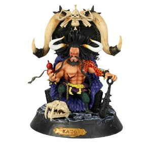 Kaido One Piece Versão Trono Pirata 25 Cm - Animes Geek
