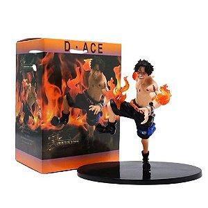 Estátua Portgas D Ace Action Figure One Piece - Animes Geek