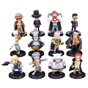 Kit 12 personagens One Piece - Animes Geek