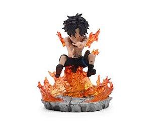 Figure Mini Diorama Portgas D Ace 10 cm - One Piece