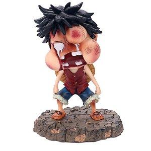 Monkey D Luffy Figure Version Over Battle - One Piece