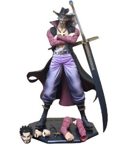 Estátua Dracule Mihawk POP DX 26 Cm - One Piece