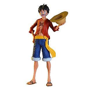 Estátua Monkey D Luffy Figure 28 cm - One Piece