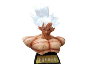 Busto Goku Instinto Superior Com LED  Dragon Ball Super - Animes Geek