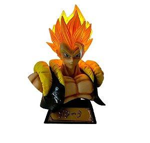 Busto Gogeta Super Saiyajin Com LED Dragon Ball - Animes Geek