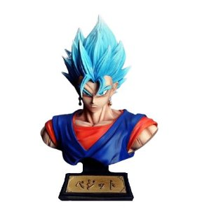 Busto Vegetto Super Saiyajin Blue Dragon Ball Super - Animes Geek