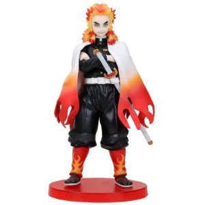 Kyojuro Rengoku Action Figure Estátua Kimetsu no Yaiba - Demon Slayer