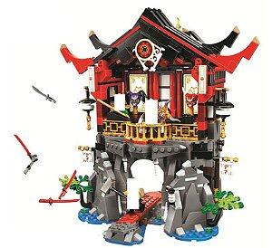Templo da Ressurreição Ninjago 809 peças - Blocos de Montar