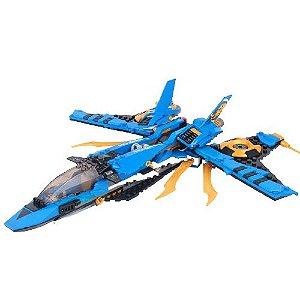 War Plane Storm Fighter de Jay Ninjago - Blocos de Montar