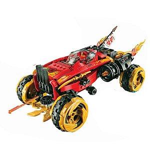 Carro Catana 4 x 4 Ninjago 460 peças + 5 Personagens - Blocos de Montar