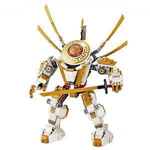 Robô Dourado Ninjago 517 peças - Blocos de Montar