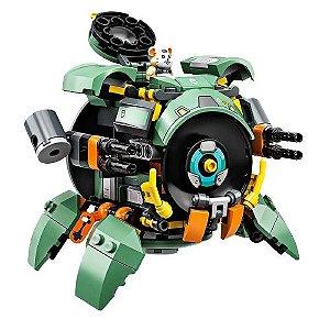 Wrecking Ball Overwatch Blocos de Montar 231 peças - Games Geek