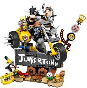 Junkrat e Roadhog Overwatch Blocos de Montar 380 peças - Games Geek