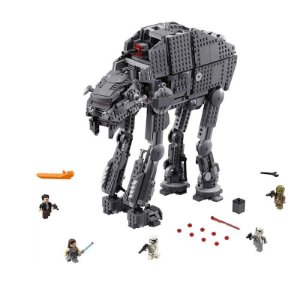 Star Wars First Order Heavy Assault Walker AT-AT 1267 peças - Blocos de Montar