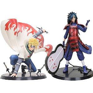 Kit 2 personagens Naruto Shippuden Minato e Madara - Animes Geek