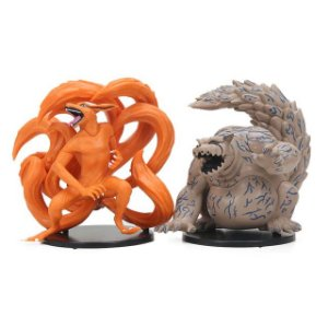 Kit 2 personagens Naruto Shippuden Kurama e Shukaku  - Animes Geek