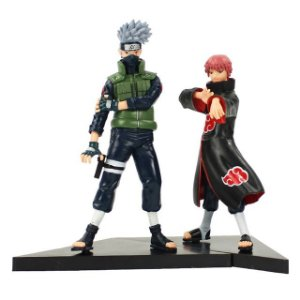 Kit 2 personagens Naruto Shippuden Kakashi e Sasori  - Animes Geek